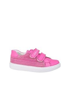kids A more Colorlest Çift Cırtlı Deri Kız Çocuk Sneaker